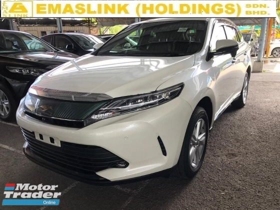 2018 TOYOTA HARRIER 2.0 NFL POWER BOOT 360 SURROUND CAMERA SEMI LEATHER ELECTRIC SEATS AUTO CRUISE FREE WARRANTY
