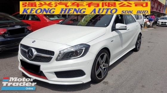 2014 MERCEDES-BENZ A-CLASS A250 2.0cc CGI SPORT AMG (A) REG JULY 2014, ONE CAREFUL OWNER, FULL SERVICE RECORD, LOW MILEAGE DONE 73K KM, FREE 1 YEAR GMR CAR WARRANTY, 18\