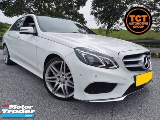 2014 MERCEDES-BENZ E-CLASS E200 2.0 (A) W212 Facelift Local AMG Full Spec SUnroof Power Boot Harman Kardon E250