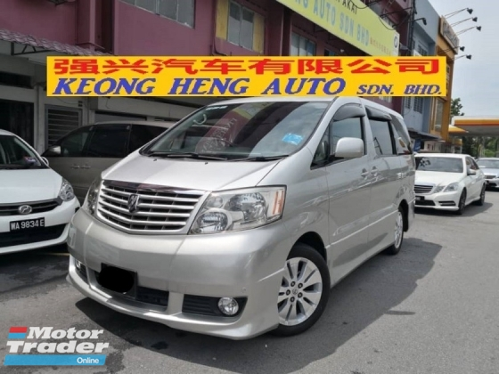 2005 TOYOTA ALPHARD 2.4 AS Sport Edition TRUE YEAR MADE 2005 Bodykit 2 Power Door Sunroof 2009