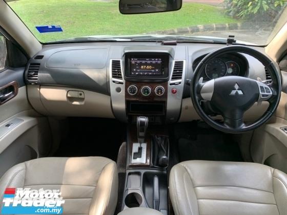 2013 MITSUBISHI PAJERO SPORT VGT (A) ENHANCED 4WD