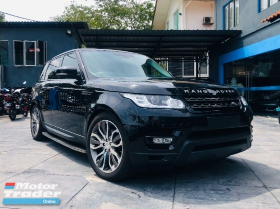 2015 LAND ROVER RANGE ROVER SPORT SE 3.0 SCV6 WELL MAINTAINED