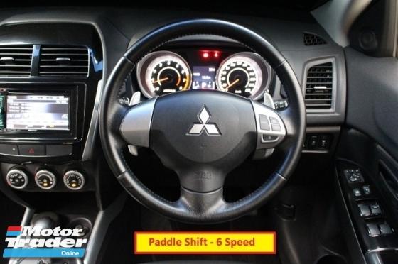 2012 MITSUBISHI ASX 2.0 (A) SE Full Specs (Paddle Shift)(Push Start)(1 Owner)(Full Loan)