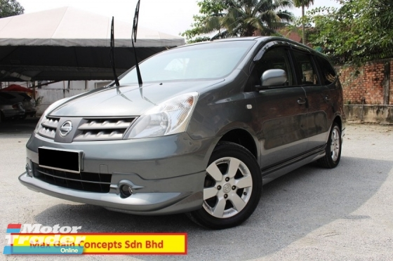 2010 NISSAN GRAND LIVINA 1.6 (A) Impul Edition Ori Year 2010 (Leather Seat)(7 Seater)(1 Owner)