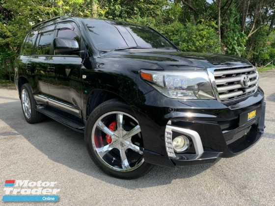 2011 TOYOTA LAND CRUISER 4.7 (A) VIP LOW MILLAGE 72K ONLY LIKE NEW