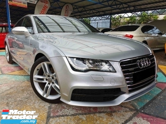 2012 AUDI A7 2.8 V6 FSI QUATTRO SLINE L/MILE PERFECT SP