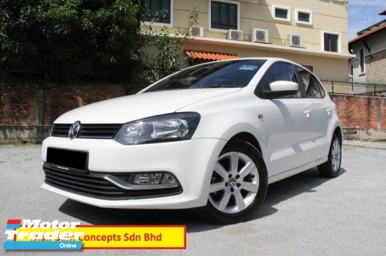 2015 VOLKSWAGEN POLO 1.6 (A) Hatchback (Ori Year 2015)(Warranty till 2021)(Full Service Record)