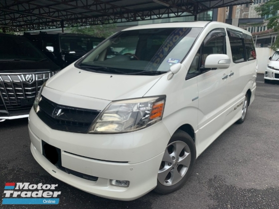 2004 TOYOTA ALPHARD 2.4 SUNROOF (TURE YEAR) POWER DOOR LIKE NEW TIP TOP CONDITION