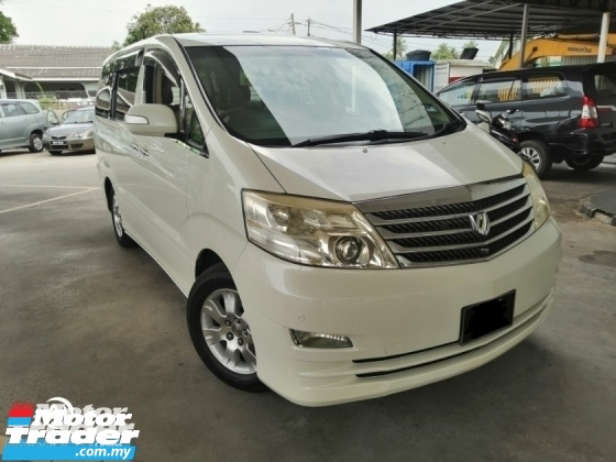2007 TOYOTA ALPHARD 3.0 MZG SELECTION