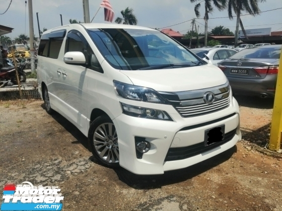 2013 TOYOTA VELLFIRE 2.4Z PLATINUM SELECTION II TYPE GOLD II