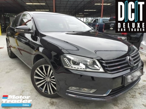 2015 VOLKSWAGEN PASSAT 1.8 TSI (A) FULL SERVICE RECORD ONE CAREFUL OWNER LOW MILLAEGE