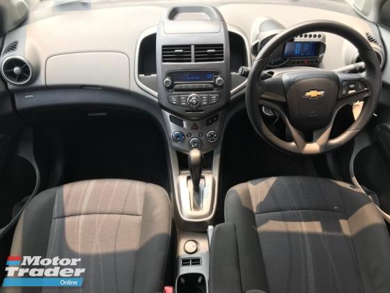 2013 CHEVROLET SONIC 1.4 ltz(a)hatchback-mileage 38k km