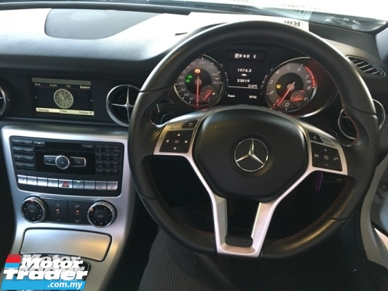 2015 MERCEDES-BENZ SLK SLK200  AMG CONVERTIBLE 2.0 9G  AMG SPEC TURBOCHARGED