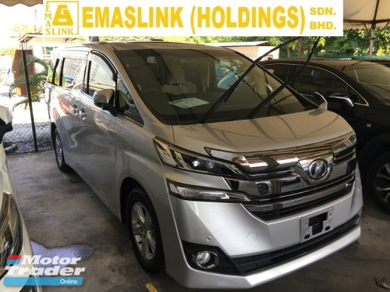 2015 TOYOTA VELLFIRE 2.5 X 8 SEAT POWER DOOR REAR CAMERA 2WD