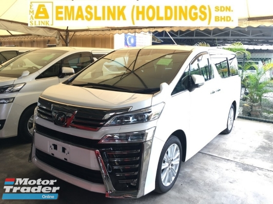 2018 TOYOTA VELLFIRE 2.5ZA MPV POWER BOAR P/CRASS FULL VIEW CAMERA NEW MODEL