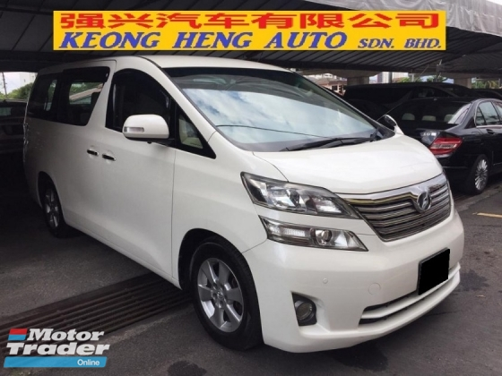 2008 TOYOTA VELLFIRE 2.4 (A) 2 Power Door Registered 2011