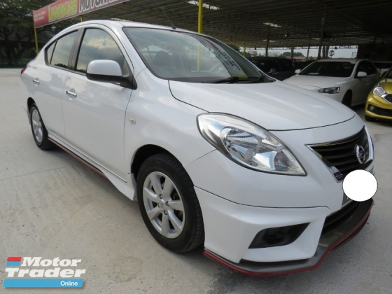 2016 NISSAN ALMERA 1.5 (A) V Nismo Bodykit One Owner 100% Accident Free CD/DVD/GPS High Loan Tip Top Condition Must View