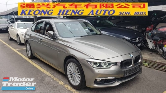 2016 BMW 3 SERIES 318i LUXURY F30 (A) REG 2016, ONE CAREFUL OWNER, FULL SERVICE RECORD, LOW MILEAGE DONE 52K KM, UNDER BMW WARRANTY UNTIL OCTOBER 2021