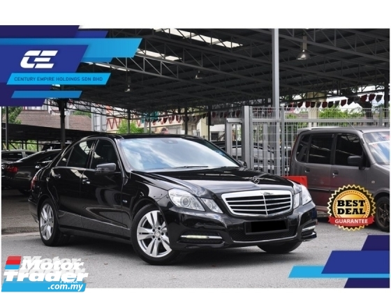 2012 MERCEDES-BENZ E-CLASS E250 CGI AVANTGARDE (7G-TRONIC) W212 LOCAL C&C Full Service Record