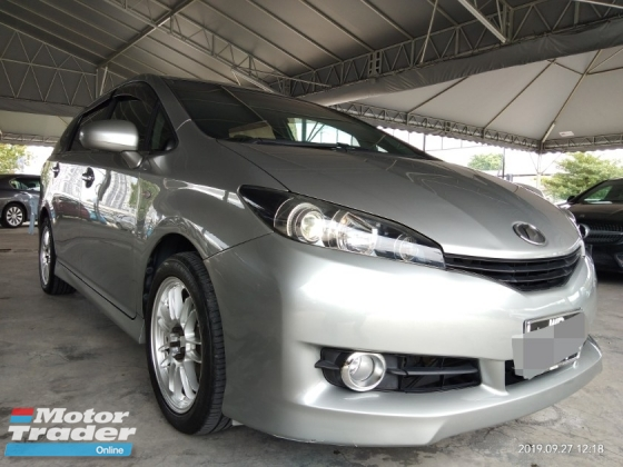 2010 TOYOTA WISH 1.8X列入黑名單可以貸款,需要三天之內帶來好消息…Blacklist can loan. on the road price RM66,888.88 1year warranty一年保养.RM925monthy✔☺🙏🙏🙏