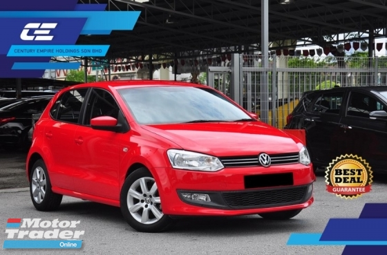 2015 VOLKSWAGEN POLO POLO 1.4L TSI HATCKBACK Full Service Record * Keep All Original Conditions