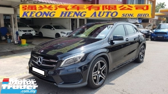 2015 MERCEDES-BENZ GLA GLA250 2.0cc 4MATIC AMG LINE (A) REG 2015, ONE CAREFUL OWNER, FULL SERVICE RECORD, LOW MILEAGE DONE 62K KM, UNDER MERCEDES BENZ WARRANTY UNTIL JULY 2019