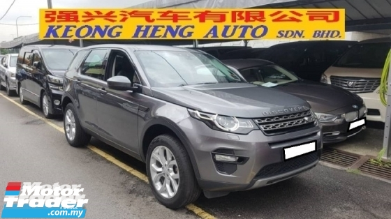 2015 LAND ROVER DISCOVERY SPORT 2.0cc Si4 SE (A) REG NOVEMBER 2016, ONE CAREFUL OWNER, FULL SERVICE RECORD, LOW MILEAGE DONE 48K KM, UNDER LAND ROVER WARRANTY UNTIL NOVEMBER 2021, STILL HAVE 2 TIME FREE SERVICE