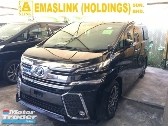 2015 TOYOTA VELLFIRE 2.5 ZG EDITION POWER BOAT FULL VIEW CAMERA