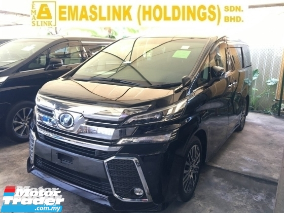 2017 TOYOTA VELLFIRE 2.5ZG Edition MPV SUN ROOF POWER BOAT 360 FULL CAM