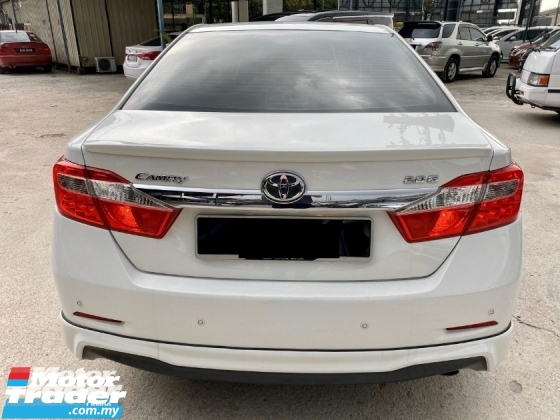 2013 TOYOTA CAMRY 2.0G FULL SPEC - WARRANTY 1 YEAR - FULL BODYKIT - LEATHER SEAT - ELECTRIC SEAT - ELECTRIC STEERING - CRUISE CONTROL - END YEAR SALE