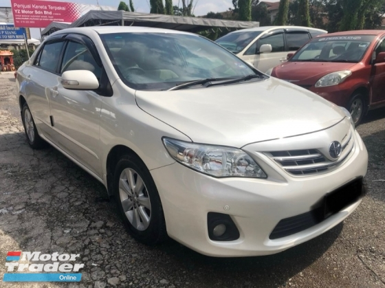2013 TOYOTA COROLLA ALTIS 1.6 (A) FACELIFT TIP-TOP CONDITION