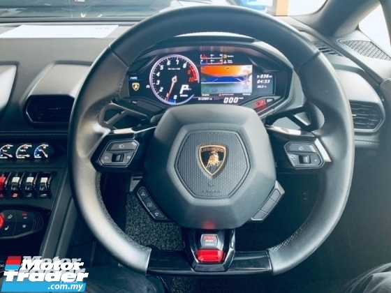 2017 LAMBORGHINI HURACAN 5.2 LP610-4 Unregister Aero Bodykit Doppia Frizione 5.2 NA 602HP 560 N⋅m Car Lifting Reverse Camera Price Negotiable