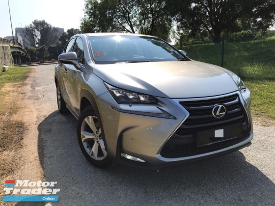 2015 LEXUS NX 200T PREMIUM FULL SPEC FULL SERVICE RECORD 1 CAREFUL OWNER
