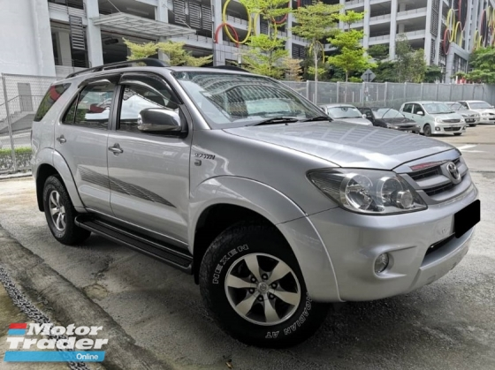 2007 TOYOTA FORTUNER Toyota Fortuner 2.7 AUTO 4X4 TIPTOP CONDITION ONE OWNER