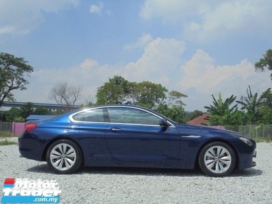 2012 BMW 6 SERIES 640Ci 3.0 F13 Coupe Facelift Luxury Tengku Owner TipTOP Condition LikeNEW