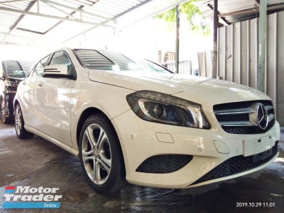 2015 MERCEDES-BENZ A-CLASS A180SE on the road price RM119,888~(include Import Duties & sst , insurane, road tax, Processing fee Recon~2015 2.5%+/-interst new stock from~japan