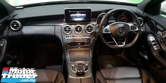 2015 MERCEDES-BENZ C-CLASS 2015 MERCEDES C200 2.0 AMG SPEC ORIGINAL FROM JAPAN UNREG CAR SELLING PRICE ( RM 192,000.00 NEGO )