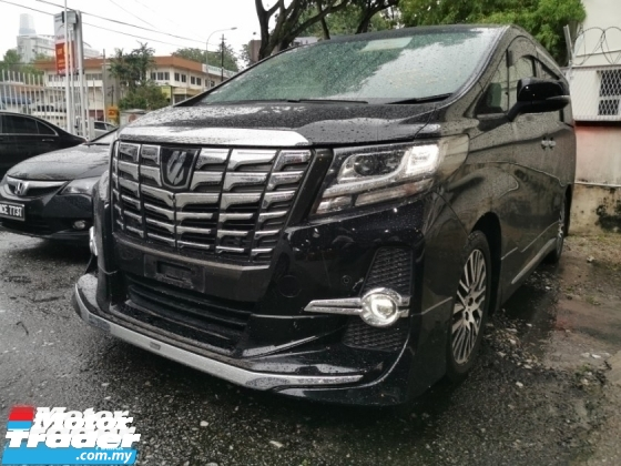 2015 TOYOTA ALPHARD 2.5 SA / JBL SOUND / MODELLISTA / 4 CAMERA / SUNROOF / PRE-CRASSH / 5 YEARS WARRANTY UNLIMITED KM