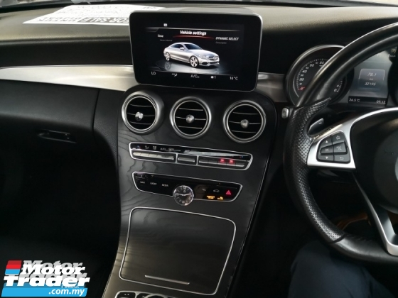 2016 MERCEDES-BENZ C-CLASS C300 2.0 AMG IN LINE PREMIUM PLUS COUPE BURMESTER PANORAMIC ROOF KEYLESS SALES TAX DISCOUNT