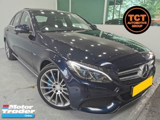 2016 MERCEDES-BENZ C-CLASS C350e 2.0 (A) AMG Line Full Service Record 21k Mileage Full Spec