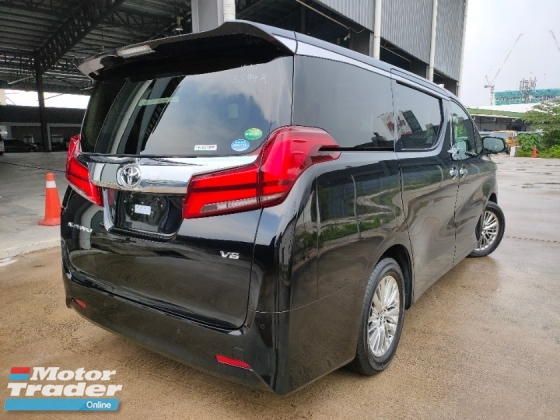 2018 TOYOTA ALPHARD 2018 Toyota Alphard 3.5 GF Sun Roof 4 Camera Pre Crash LTA DIM Full Leather Power Boot Power Doot Unregister
