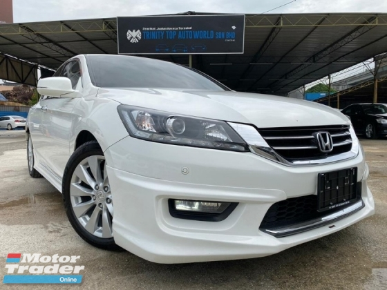 2016 HONDA ACCORD 2.0 VTI-L FULL SPEC WITH NICE NUMBER PLATE = PROVIDE WARRANTY= 1 VIP OWNER