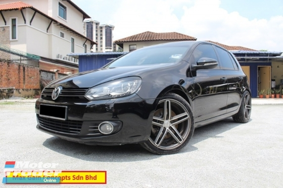2012 VOLKSWAGEN GOLF TSI 1.4 (A) Hi Specs (Ori Year Make 2012)(1 Owner)