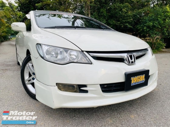 2006 HONDA CIVIC 2.0 (A) ORIGINAL PAINT TRUE YEAR