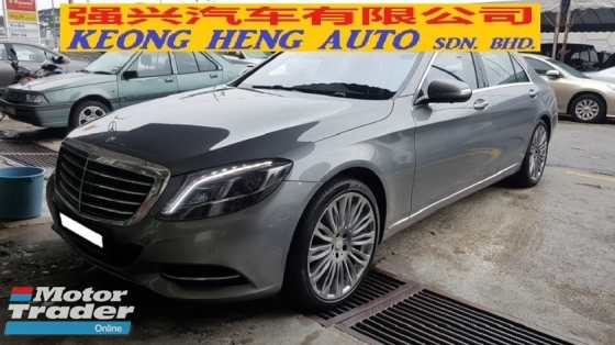 2015 MERCEDES-BENZ S-CLASS S400L HYBRID 3.5cc (A) REG FEB 2015, ONE CAREFUL OWNER, FULL SERVICE RECORD, LOW MILEAGE DONE 29K KM, UNDER MERCEDES BENZ MALAYSIA WARRANTY UNTIL YEAR 2021 & HYBRID BATTERY UNDER WARRANTY UNTIL YEAR 2023