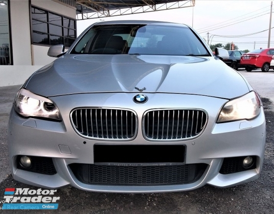 2011 BMW 5 SERIES 2.5 (A) M-SPORT- LIKE NEW - 60KM