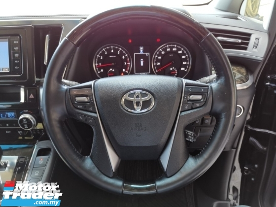2016 TOYOTA VELLFIRE 2.5ZG Edition Pilot Seat PB Unreg Sale Offer
