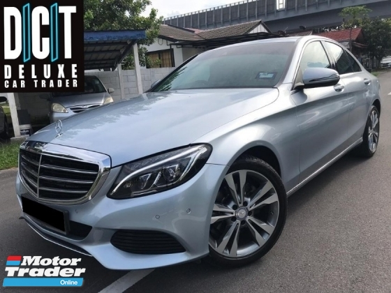 2016 MERCEDES-BENZ C-CLASS C200 W205 LOCAL SPEC C&C SERVICE RECORD NAVI SUNROOF