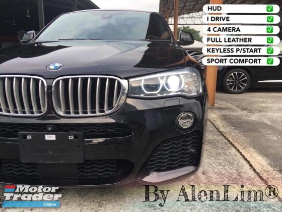 2016 BMW X4 M -SPORT 2.0 TURBO (UNREG) FREE WRTY n SERVICE