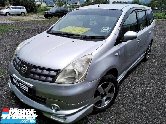 2011 NISSAN LIVINA 1.6 (A) BODYKIT SUPER CONDITION